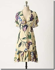anthropologie Spring 2010 dress