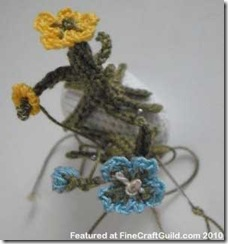 cherry blossom crochet