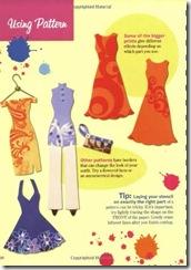fancy paper dress pattern book