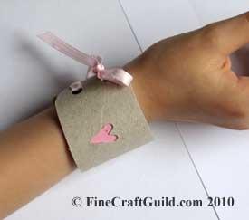 toddler child friendship bracelet TP craft