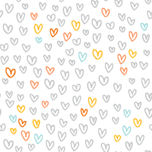 Free Hip Valentine Twitter Backgrounds - gray color hearts
