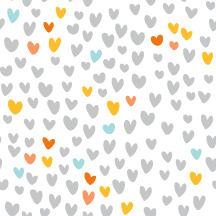 Free Hip Valentine Twitter Backgrounds - gray hearts solid