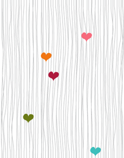 Free Hip Valentine Twitter Backgrounds - heartstrings