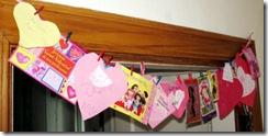 valentines garland