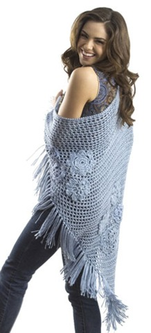 Shawls, free crochet patterns