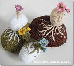 spring blossom crochet