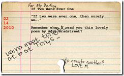 original valentine cards