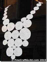 easy crochet bib necklace