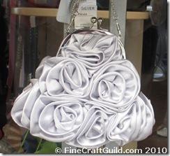 silver rose bag