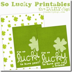 Lucky St. Patrick's Day – Free Printables
