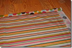 beach blanket tutorial