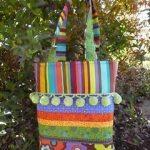 Pompom Bag: Free Designer Sewing Pattern