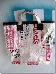 fusedrecycledplasticbag