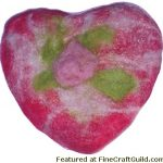 How to Make Fancy Felted Soaps