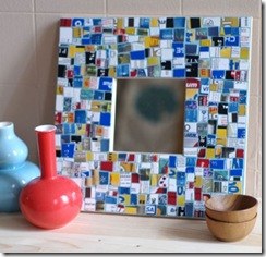 mosaic recycled credit cards