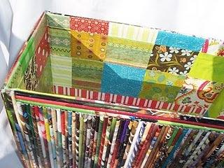 recycled magazine craft