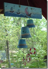 wind chime recycled