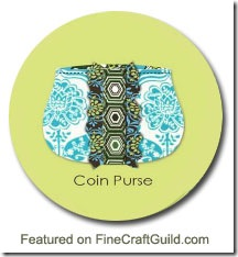 free pattern coin purse