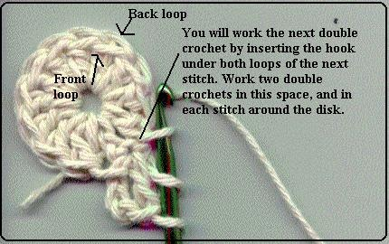 crochet bottle bag pattern - tutorial image 5