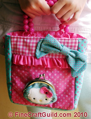Hello Kitty Handbag: Too Cute!!
