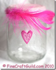 recycling craft for kids glass jar