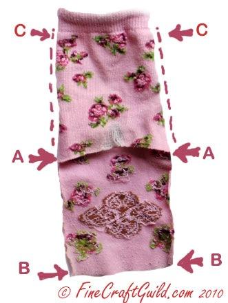 recycled socks ideas