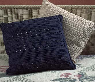 Beautiful Decorative Pillows :: Free Crochet Patterns