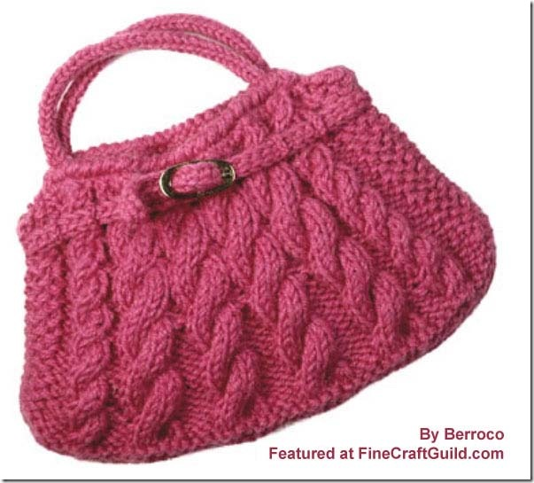 KNITTING BAGS PATTERNS   Free Patterns