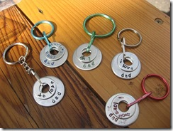 fathers day key tags