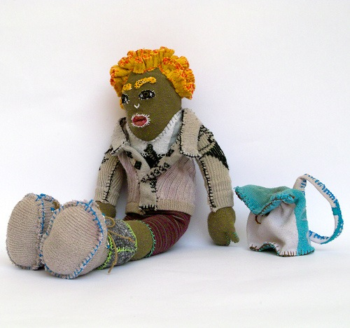 sock monkey :: recycled socks crafts