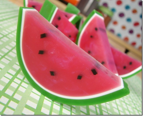 Watermelon Crafts: Soap Making