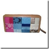 coach patchwork wallet