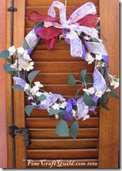easy wreath ribbons