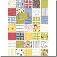 moda Make life 5 quilt squares