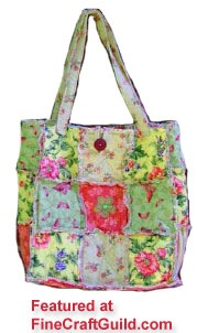 Patchwork Tote Bag Free Pattern