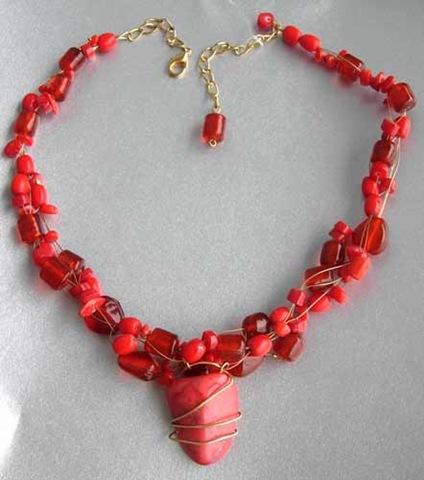 beaded jewelry  :: FineCraftGuild.com