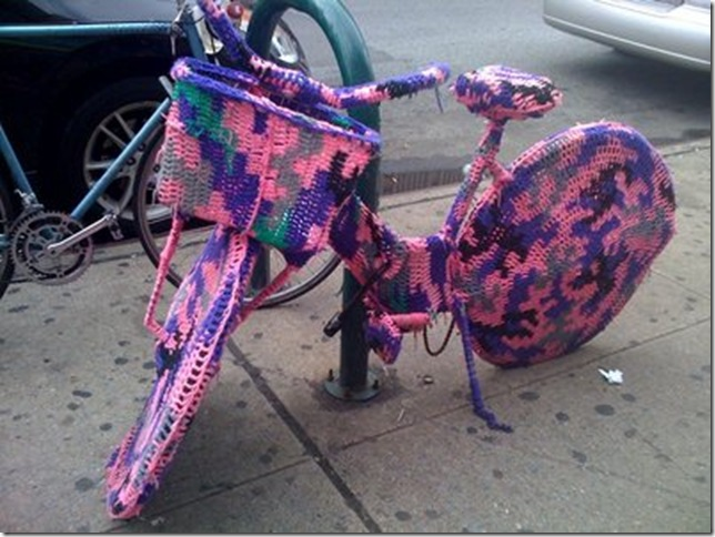crochet bike NYC
