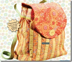 lovely back pack pattern