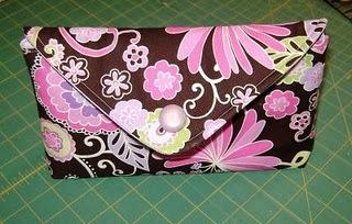 makeup bag envelop pattern