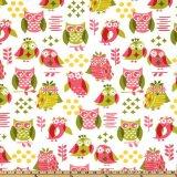 owl fabric kaufmann