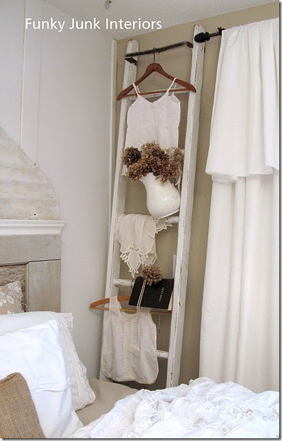 ladder cloth rack
