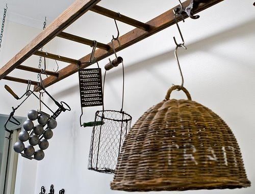 Decorate with Recycled Ladders