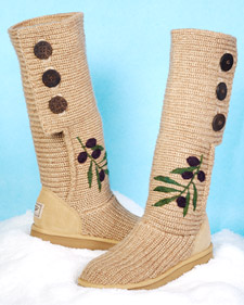 Embellish your Uggs boots DIY