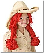 Halloween cowgirl wig pattern