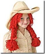 Halloween cowgirl wig pattern