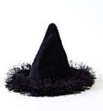 Halloween felt witch hat