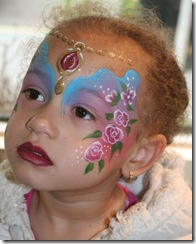 angel face painting