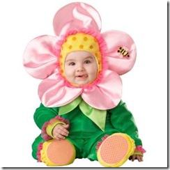 baby flower Halloween costume