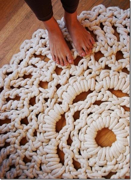 crochet area rug