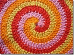 crochet spiral rugs